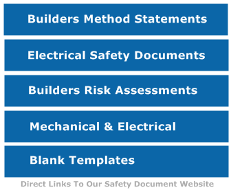 Builders Safety Facebook Page  Method Statements Template